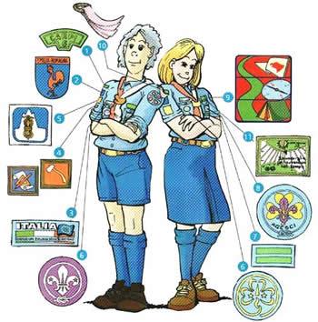 uniforme scout